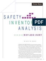 Safety Inventory Analysis - Why and How?