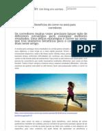 Benefícios de Correr Na Areia Para Corredores