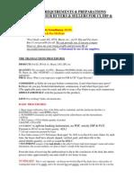 Dip & Pay Procedures