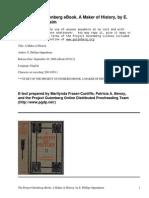 A Maker of History by Oppenheim, E. Phillips (Edward Phillips), 1866-1946