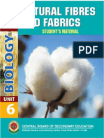 natural fibre to fabric