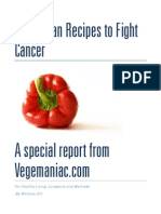 Cancer Fighting Recipes