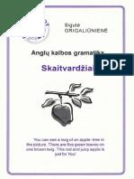Anglu Kalbos Gramatika Skaitvardžiai 2002