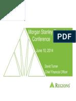 Regions Bank - Morgan Stanley Conf.- June 2014