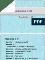 LOB Module 1 Introduction