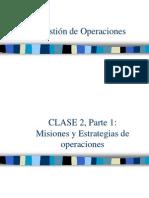 Gestion Operaciones Clase 2 LosLeones