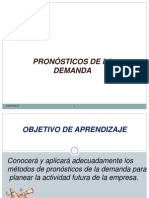 Gestion de Operaciones Clase 3 Parte 2 Pronosticos