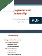 1 2 Management & Leadership