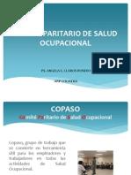 Comité Paritario de Salud Ocupacional Presentación