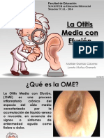 Otitis Media Efusión