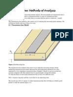 Methods of microstrip analysis