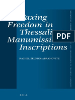 Zelnick-Abramovitz - Taxing Freedom in Thessalian Manumission Inscriptions