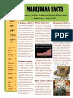 2012 Oregon Marijuana Summit Brochure