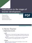 Implication Teacher's Development