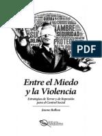 Jaume Balboa_Entre El Miedo y La Violencia. Estrategias de Terror y de Represión Para El Control Social