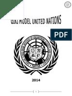 GIK Model United Nations Guidelines