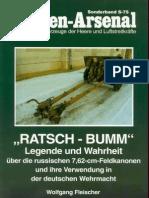 Waffen Arsenal - Sonderband S-75 - Ratsch-Bumm - Legende und Wahrheit über die russischen 7,62 cm Feldkanonen