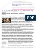 America's View of China is Fogged by Liberal Ideas - FT