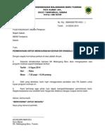 Surat Permohonan Dewan