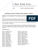 2014 NFIB Full Slate Endorsement Release