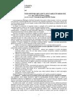 Cercetări Privind Sisteme Mecanice Aplicabile În Medicină