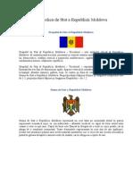 Simbolica de Stat a Republicii Moldova