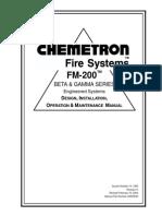 FM 200 Beta Gamma Manual