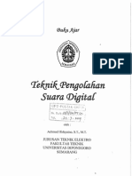 Buku Teknik Pengolahan Suara Digital