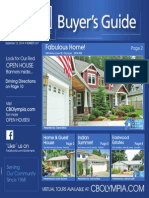 Coldwell Banker Olympia Real Estate Buyers Guide September 13th 2014