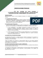 ESPECIFICACIONES TECNICAS ESPECIFICAS
