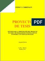 Proyecto de Tesis - Cárdenas