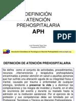 Dedinicion de Atencion Prehospitalaria