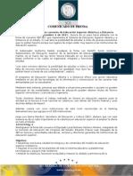 06-12-2011 El Gobernador Guillermo Padrés Elías, acompañado del Subsecretario de Educación Superior de la SEP, Rodolfo Tuirán Gutiérrez, firmó convenio de educación superior abierta y a distancia. B121124