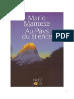 Au Pays Du Silence - Mario Mantese