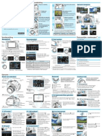 EOS 600D Quick Reference Guide NL v1.0