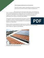 Sistema de Aproveitamento de Águas Pluviais Para Usos Não Potáveis