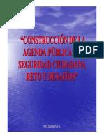 AGENDA SEGURIDAD CIUDADANA HansEssenwanger FuerzaDemocratica