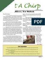 Fall 2014 Audubon Newsletter