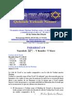 Parashat Vayesheb # 9 Adul 5770