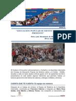 Encuentro Latinoamericano y Caribeño de Educación Popular y Asamblea Intermedia del CEAAL - Boletín Nº 12