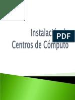 Instalacion Centros de Computo