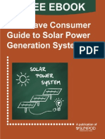 Must-have Consumer Guide to Solar Power Generation Systems