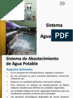 Clase de Construcción II - Sistema de Abastecimiento de Agua Potable
