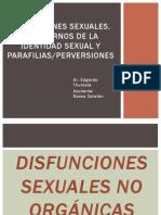 Disfunciones Sexuales, Trastornos de La Identidad Sexual