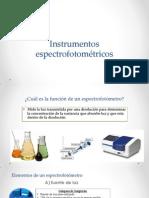 Instrumentos espectrofotométricos