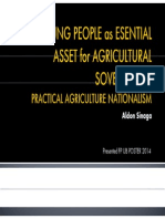 Young People as Esential Asset for Agricultural Sovereignty - Aldon Sinaga - Presented -Poster Fpub 2014