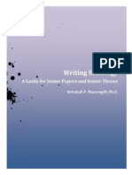 Sociology Writing Guide