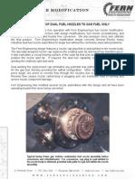 Fuel Nozzle Modification