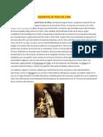 Biografía de Rosa de Lima