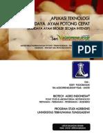 Aplikasi Teknologi Budidaya Ayam Potong Cepat